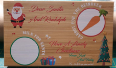 Christmas Eve Chopping Board - Add Your Name/Names
